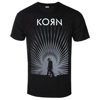 tričko pánské Korn - Radiate Glow - ROCK OFF, ROCK OFF, Korn