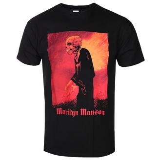 tričko pánské Marilyn Manson - Madmonk - ROCK OFF, ROCK OFF, Marilyn Manson