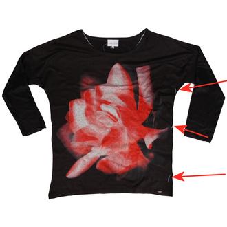 tričko dámské s dlouhým rukávem Innocent lifestyle - MARLOWE - BLACK - POŠKOZENÉ, INNOCENT LIFESTYLE