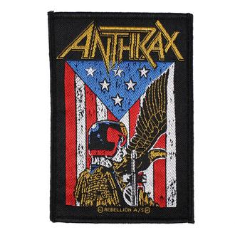 nášivka Anthrax - Judge Dredd - RAZAMATAZ, RAZAMATAZ, Anthrax
