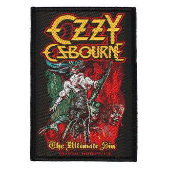 nášivka Ozzy Osboume - The Ultimate Sin - RAZAMATAZ, RAZAMATAZ, Ozzy Osbourne
