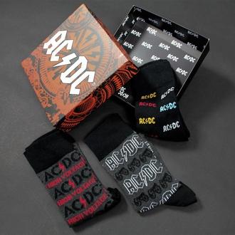 ponožky (set 3 párů) AC/DC, CERDÁ, AC-DC