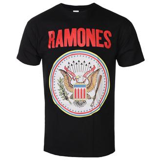 tričko pánské Ramones - Full Colour Seal - ROCK OFF, ROCK OFF, Ramones