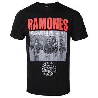 tričko pánské Ramones - Cage Photo - ROCK OFF, ROCK OFF, Ramones