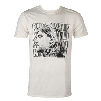 tričko pánské Kurt Cobain - Contrast Profile - ROCK OFF, ROCK OFF, Nirvana