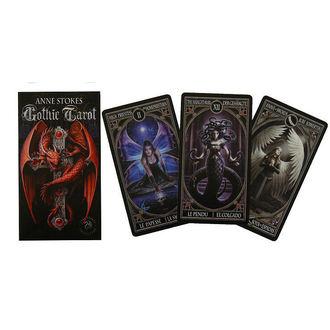tarotové karty Anne Stokes - Gothic Tarot, ANNE STOKES