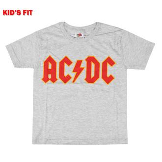 tričko dětské AC/DC - Logo - ROCK OFF, ROCK OFF, AC-DC