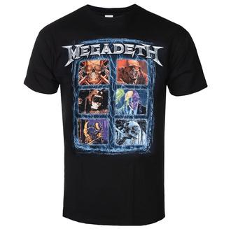 tričko pánské Megadeth - Head Grip - ROCK OFF, ROCK OFF, Megadeth