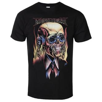 tričko pánské Megadeth - Flaming - ROCK OFF, ROCK OFF, Megadeth