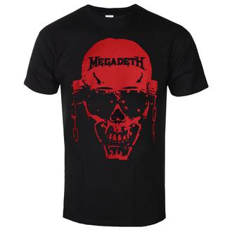 tričko pánské Megadeth - Contrast Red - ROCK OFF, ROCK OFF, Megadeth