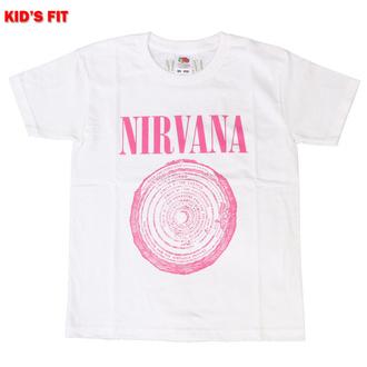 tričko dětské Nirvana - Vestibule - WHT - ROCK OFF, ROCK OFF, Nirvana