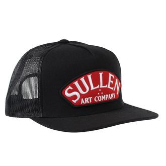 kšiltovka SULLEN - PIT STOP - BLACK, SULLEN