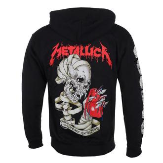 mikina pánská Metallica - Heart Explosive, ROCK OFF, Metallica