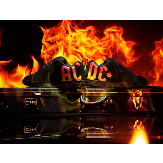 boty DC - AC/DC - HIGHWAY TO HELL - BLACK GRADIENT, DC, AC-DC