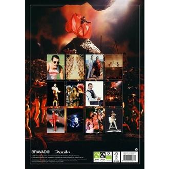 kalendář na rok 2021 - FREDDIE MERCURY, NNM, Queen