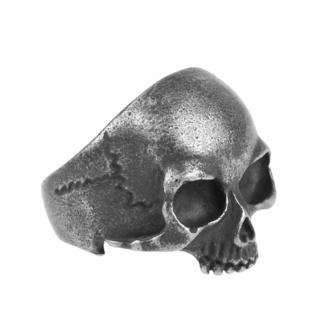 prsten ETNOX - Gun Metal Skull, ETNOX