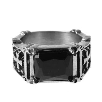 prsten ETNOX - black zirconia, ETNOX