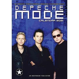 kalendář na rok 2021 - DEPECHE MODE, NNM, Depeche Mode