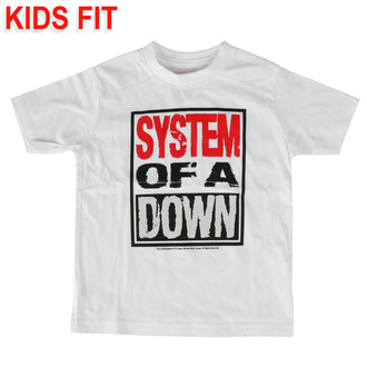 tričko dětské System of a Down - Logo - Metal-Kids, Metal-Kids, System of a Down