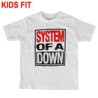 tričko dětské System of a Down - Logo - Metal-Kids, Metal-Kids, System of a Down