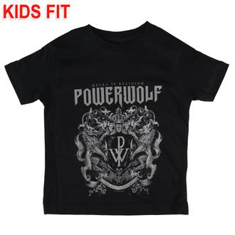 tričko dětské Powerwolf - Crest - Metal-Kids - 583-25-8-999
