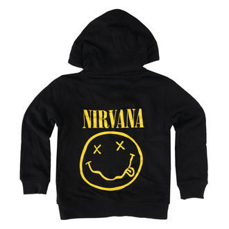 mikina dětská Nirvana - Smiley - Metal-Kids, Metal-Kids, Nirvana