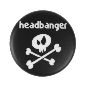 placka malá Headbanger - Metal-Kids, Metal-Kids