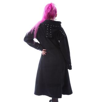 kabát dámský POIZEN INDUSTRIES - STORY - BLACK, POIZEN INDUSTRIES
