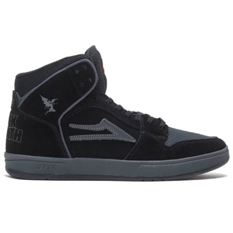 boty Lakai x Black Sabbath -  Telford SMU - black grey suede, Lakai x Black Sabbath, Black Sabbath