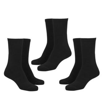 ponožky (set 3 párů) URBAN CLASSICS - Sport 3-Pack - black - TB1471