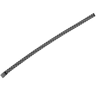 pásek URBAN CLASSICS - Adjustable Checker - black/grey, URBAN CLASSICS
