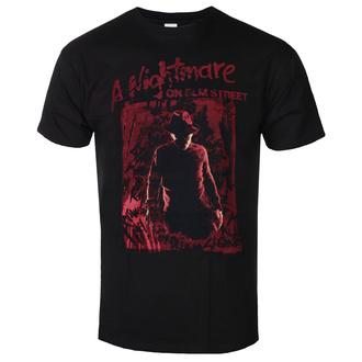 tričko pánské Nightmare On Elm Street - Freddy Silhouette - Black, BIL, Noční můra z Elm Street