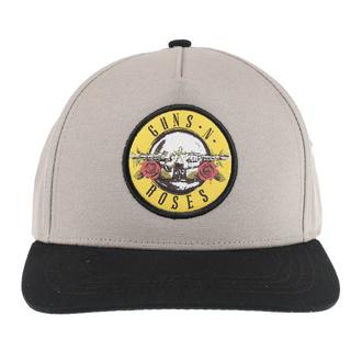 kšiltovka Guns N' Roses - Circle Logo - SAND/BL - ROCK OFF, ROCK OFF, Guns N' Roses