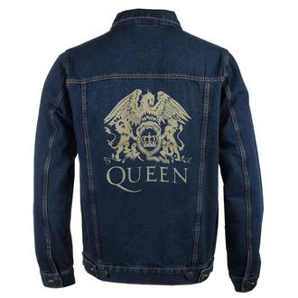 bunda pánská Queen - Classic - DENIM - ROCK OFF, ROCK OFF, Queen