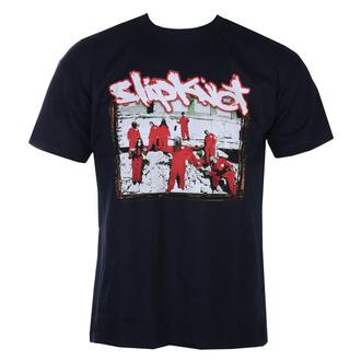 tričko pánské Slipknot - 20th Anni - Red Jump Suits - NAVY - ROCK OFF, ROCK OFF, Slipknot