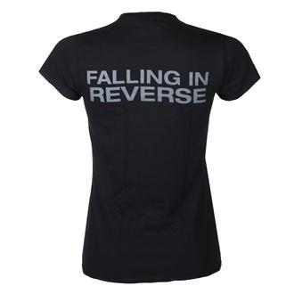 tričko dámské Falling In Reverse - Losing My Life Fitted - Black, KINGS ROAD, Falling In Reverse