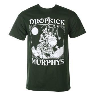 tričko pánské Dropkick Murphys - Skelly Piper - Forest Green - KINGS ROAD, KINGS ROAD, Dropkick Murphys