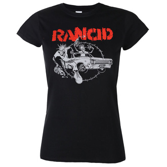 tričko dámské Rancid - Cadillac Fitted - Black - KINGS ROAD, KINGS ROAD, Rancid