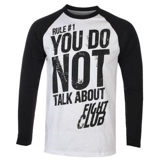 tričko pánské s dlouhým rukávem Fight Club - Rule 1 Don´t Talk About Fight Club - HYBRIS, HYBRIS, Fight Club