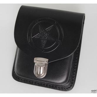 kapsa na opasek Baphomet - Black - JMB01 - POŠKOZENÁ, Leather & Steel Fashion