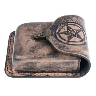 kapsa na opasek Baphomet - LSF5 01 - POŠKOZENÁ, Leather & Steel Fashion