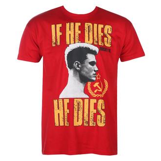 tričko pánské Rocky - If He Dies, He Dies - Tango-Red - HYBRIS, HYBRIS, Rocky