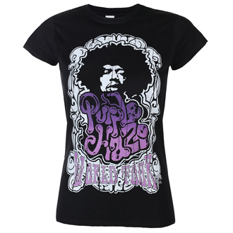 tričko dámské Jimi Hendrix - Purple Haze World Tour - Black - HYBRIS, HYBRIS, Jimi Hendrix