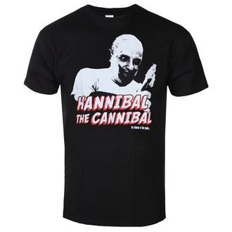 tričko pánské The Silence of the Lambs - Hannibal - The Cannibal - Black - HYBRIS, HYBRIS, Mlčení jehňátek
