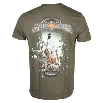 tričko pánské HELLOWEEN - Unarmed - Khaki - NUCLEAR BLAST, NUCLEAR BLAST, Helloween