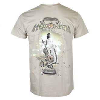 tričko pánské HELLOWEEN - Unarmed - Sand - NUCLEAR BLAST, NUCLEAR BLAST, Helloween