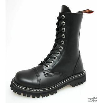 boty KMM 10dírkové - Black - 100 - POŠKOZENÉ - BH112