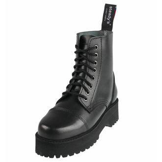 boty STEADY´S - 8 dírkové - Black - STE/804_black - POŠKOZENÉ - BH113