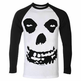 tričko pánské s dlouhým rukávem MISFITS - ALL OVER SKULL - PLASTIC HEAD, PLASTIC HEAD, Misfits