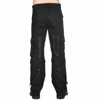 kalhoty pánské Black Pistol - Pyramide - Black - B-1-29-001-00 - POŠKOZENÉ, BLACK PISTOL